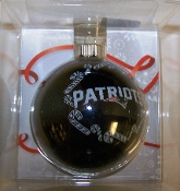 "New England Patriots 2 5/8"" Traditional Bulb Ornament"