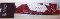 Arizona Cardinals Fanband Jersey Style Elastic Headband Hairband