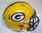 Green Bay Packers NFL Full Size Helmet Replica Riddell Speed