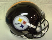 Pittsburgh Steelers NFL Full Size Helmet Replica Riddell Speed