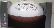 Pittsburgh Steelers Super Bowl Champs on the Fifty Football
