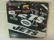 New York Jets Insulated Lunch Bag 12 Pack Cooler