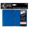 Deck Protector Sleeves Eclipse Matte Blue Ultra Pro Pack (80)