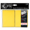 Deck Protector Sleeves Eclipse Matte Yellow Ultra Pro Pack (80)