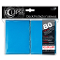 Deck Protector Sleeves Eclipse Matte Light Blue Ultra Pro (80)