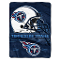 "Tennessee Titans 60""x80"" Plush Fleece Throw Blanket"