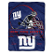 "New York Giants 60""x80"" Plush Raschel Throw Blanket"
