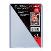 "3 1/2""x5 1/8"" Topload Card Holders Ultra Pro Brand Pack (25)"