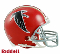 Atlanta Falcons 66-69 Throwback Replica Mini Helmet Riddell