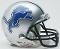 Detroit Lions (09-16) Throwback Mini Helmet Riddell